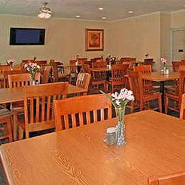 Super Value Inn Fredericksburg Breakfast Room